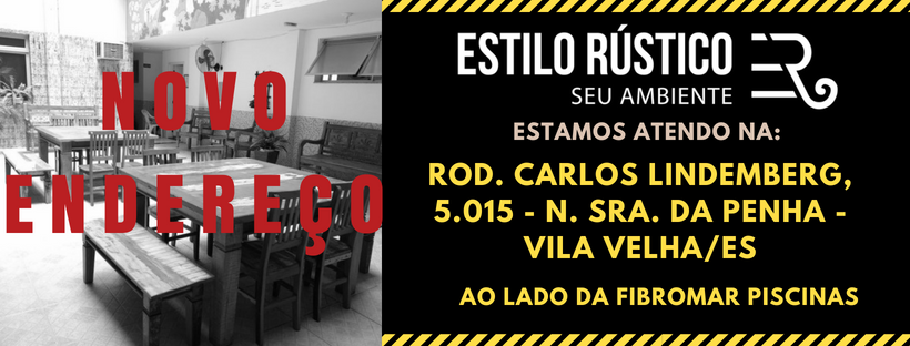 Novo Endereço / Estilo Rústico / Vila Velha – ES